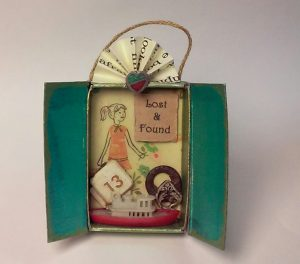 """Lost and Found"" shrine by Amanda Heinz-Stevenson, Firestarter Shrines"