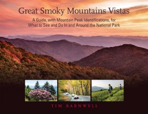 Great Smoky Mountain Vistas by Asheville artist photographer Tim Barnwell (book cover)